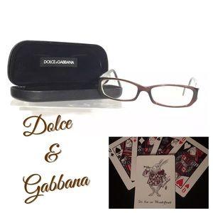 Dolce & Gabbana Animalier Eyeglasses Tortoise